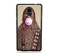 Elonbo Animal Blow Bubble Gum Plastic Hard Back Case Cover for Samsung Galaxy Note 4