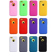 Heavy Duty Impact Case Cover for Apple iPhone 5C (Assorted Colors)