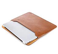 borsa cassa del manicotto di morbida pelle pro 13 pollici taikesen Apple MacBook