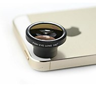 Universal 180 Degree Specially Good Effect Fish Eye Lens for iPhone 4/4S/5/5S/3G/3GS iPad 3 and Other