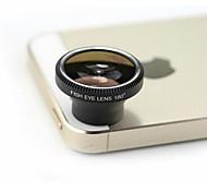 180-Grad-Universal besonders gutem Effekt Fischauge-Objektiv für iPhone 4 / 4S / 5 / 5s / 3G / 3GS ipad 3 und andere