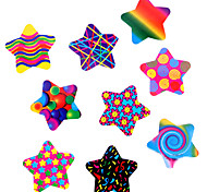 100PCS Colorful Stars Adhesive Stickers