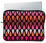 """huado® 13 """"15"""" h19008 Grafik Wassertropfen-Muster Laptop-Tasche"""