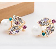Love Is Your Fashion Submarine Shell Pearl Earrings