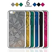 Angibabe Rhombus Metal Aluminum Ultra-thin Phone Back Cover for iPhone 6 Case 4.7 inch