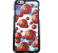 3D Basketball Pattern Hard  Case for iPhone 6
