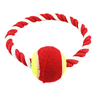Pets Ball Toy Stringing Tennis Multicolor Toy