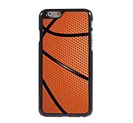 Basketball Design Aluminum Hard Case for iPhone 6