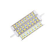 10W R7S LED a pannocchia T 48 SMD 5050 650lm lm Bianco caldo Intensità regolabile AC 220-240 V