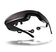"""IVS 72"""" Portable MP4 Video Glasses Virtual Goggles with AV-IN and 4GB Memory"""