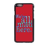 We're Mad Design Aluminum Hard Case for iPhone 6