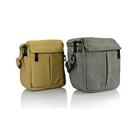 Dengpin® Canvas Camera Messenger Shoulder Bag Case for Nikon V1 J1 J2 J3 with 10-30mm or 10mm Lens