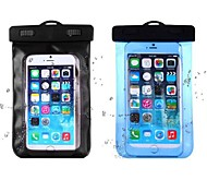 IPX8 20 Meters Safely Floating Waterproof Pouches Soft Case for iPhone 6 Plus and Other Cellphones (Assorted Colors)