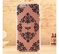 Gotisches Muster Stil Kunststoff Hard Cover für iPhone 6 Plus