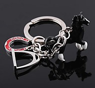 High Quality Oil Drip Horse Style Keychain
