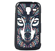The wolf Leather Vein Pattern Hard Case for Samsung Galaxy Ace 2/i8160
