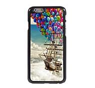 The Balloon Pirate Ship Design Aluminum Hard Case for iPhone 6
