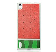 Watermelon Pattern Hard Case for Huawei Ascend P7