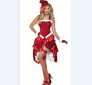 Saloon Girl Can Can Dancer Dress Women's Christmas Costume