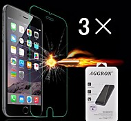 Damage Protection Tempered Glass Screen Protector with Cleaning Cloth for iPhone 6S/6 (3 PCS)