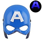fresco luminoso led captain america maschera per halloween