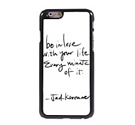Believe With Your Design Aluminum Hard Case for iPhone 6 Plus