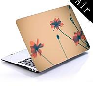 flores diseño tumblr de cuerpo completo caja de plástico protectora para el de 11 pulgadas / 13 pulgadas de aire nuevo macbook