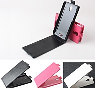 Hot Sale 100% PU Leather Flip Leather Up and Down Case for Lenovo S660(Assorted Color)