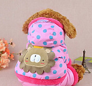Winter Cotton Coats for Dogs Pink / Yellow XXS / XS / S / M / L