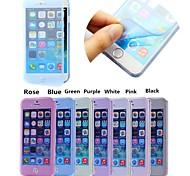 touch screen caso cobertura completa macio para iphone 6 / 6s (cores sortidas)