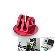 aleación de aluminio auricular moto vina® cnc montaje tornillo adaptador para GoPro héroe 3 + / 3/2/1 / sj4000