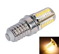 Corn Bulbs , E14 3 W 64 SMD 3014 170lm LM Warm White AC 100-240 V