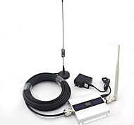 LCD Display Mini DCS 1800MHz Mobile Phone Signal Booster , Signal Repeater + Sucker Antenna with 10m Cable