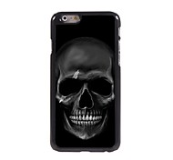 Fierce Skull Pattern Aluminum Hard Case for iPhone 6 Plus