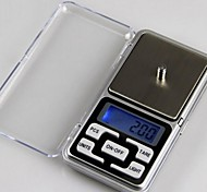 Mini Digital Pocket Scale (500gx0.1g, 2xAAA Battery)