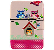 Cute Cartoon Owls Case for iPad mini 3, iPad mini 2, iPad mini