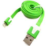 GRIS GE-IP1 USB2.0 Male to Micro USB Male Flat USB Cable 1M 3.28FT