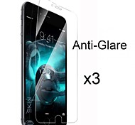 3 x Matte Anti Glare Screen Protector with Cleaning Cloth for iPhone 6 Plus
