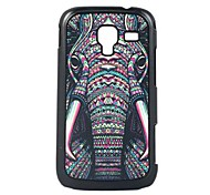 Elephant Leather Vein Pattern Hard Case for Samsung Galaxy Ace 2/i8160