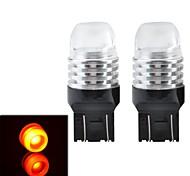 T20 6W 200LM LED Red Light Car Brake Light (2 PCS / 12V)