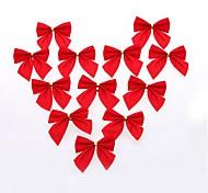 12 pièces de décorations de Noël, le bow arbre de Noël à accrocher