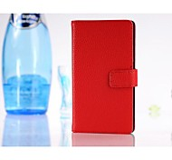 HHMM Litchi Grain With Stents PU leather for Nokia Lumia 925(Assorted Colors)