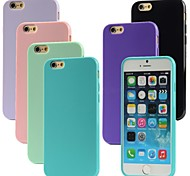 VORMOR® Glossy TPU Soft Cover Case for iPhone 6 (Assorted Colors)