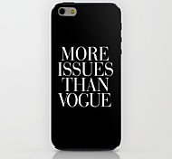 More Important Than The Black Matrix Fashion Pattern hard Case for iPhone 6