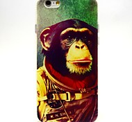 Space Chimps Pattern TPU Soft Case for iPhone 6