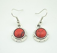 Drop EarringsJewelry Red Alloy Party / Daily