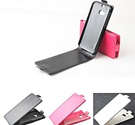 Hot Sale 100% PU Leather Flip Leather Up and Down Case for HTC M8(Assorted Colors)