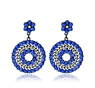 European Folk Dance Drop Earrings