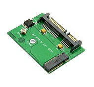 "Low profile Half Height MGFF Mini PCI-E 2 Lane M.2 SSD to 2.5"" SATA 22pin hard disk Drive PCBA"
