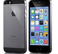 0,3 mm ultradünne bunte transparente Peeling-TPU für iPhone 5 / 5s (Farbe sortiert)
